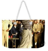 Tiger Woods Weekender Tote Bag