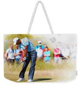 Tiger Woods - The British Open Golf Championship Weekender Tote Bag
