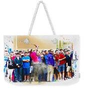 Tiger Woods - The Waste Management Phoenix Open At Tpc Scottsdal Weekender Tote Bag