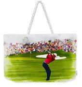 Tiger Woods - The Waste Management Phoenix Open  Weekender Tote Bag