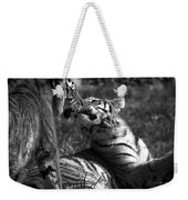 Tigers Kissing Weekender Tote Bag