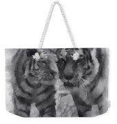 Tigers Photo Art 01 Weekender Tote Bag