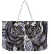 Tigers Photo Art 02 Weekender Tote Bag