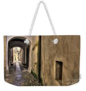 Tight Alley With Arch Weekender Tote Bag