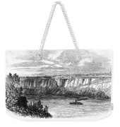 Tightrope Walker, 1860 Weekender Tote Bag