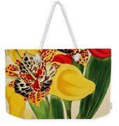 Tigridia Pavonia And Conchiflora Weekender Tote Bag