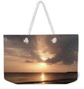 Tiki Sunset 1 Weekender Tote Bag