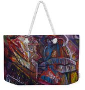 Tikor Woman Weekender Tote Bag by Peggy  Blood