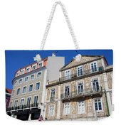 Tiled Building In Chiado District Of Lisbon Weekender Tote Bag