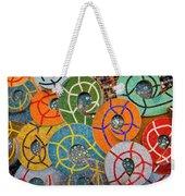 Tiled Swirls Weekender Tote Bag