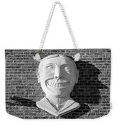 Tillie Of Coney Island In Black And White Weekender Tote Bag