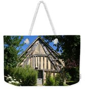 Timber A Frame Cottage Weekender Tote Bag