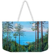 Timber Cove On A Still Summer Day Weekender Tote Bag