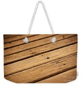 Timber Decking Weekender Tote Bag