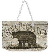 Timber Lake Lodge Weekender Tote Bag