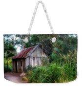Timber Shack Weekender Tote Bag by Kaye Menner