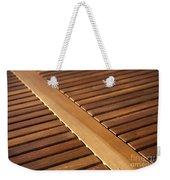 Timber Slats Weekender Tote Bag