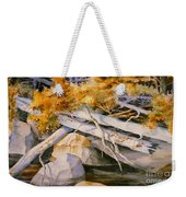 Timber Tumble Weekender Tote Bag