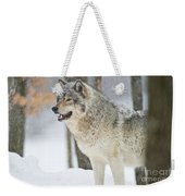 Timber Wolf Pictures 1302 Weekender Tote Bag