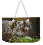 Timber Wolf Pictures 1693 Weekender Tote Bag