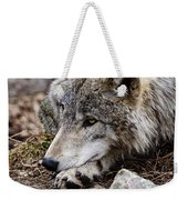 Timber Wolf Pictures 205 Weekender Tote Bag