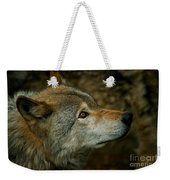 Timber Wolf Pictures 268 Weekender Tote Bag