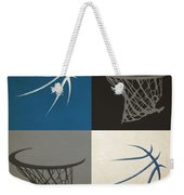 Timberwolves Ball And Hoop Weekender Tote Bag