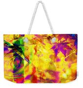 Time As An Abstract Weekender Tote Bag
