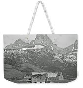 Time Forgotten Bw Weekender Tote Bag