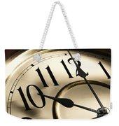 Time Goes By Weekender Tote Bag