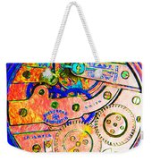 Time In Abstract 20130605p180 Square Weekender Tote Bag