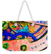 Time In Abstract 20130605p180 Weekender Tote Bag