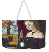 Time In The Cage Weekender Tote Bag