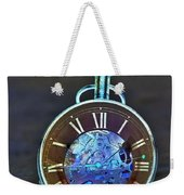 Time In The Sand In Negative Weekender Tote Bag