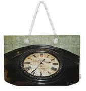 Time Is Fleeting Weekender Tote Bag