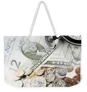 Time Is Money Concept Weekender Tote Bag