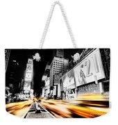 Time Lapse Square Weekender Tote Bag