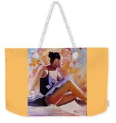Time Out Weekender Tote Bag