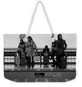 Time Passes By Weekender Tote Bag