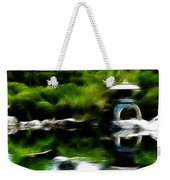Time Slows For Meditation Weekender Tote Bag