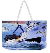 Time To Go Home Weekender Tote Bag by David Wagner