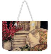 Time To Relax - Within Border Weekender Tote Bag