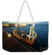 Time To Work Weekender Tote Bag