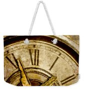 Time Travel Weekender Tote Bag by Carol Leigh