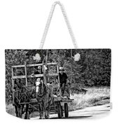Time Travelers Bw Weekender Tote Bag