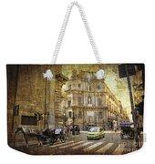 Time Traveling In Palermo - Sicily Weekender Tote Bag
