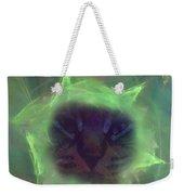 Time Warp Cat Weekender Tote Bag