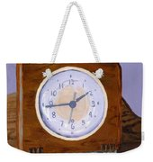 Time Will Tell Weekender Tote Bag