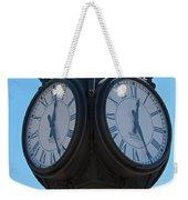 Timed  Weekender Tote Bag