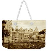 Timeless Grand Place Weekender Tote Bag by Carol Groenen